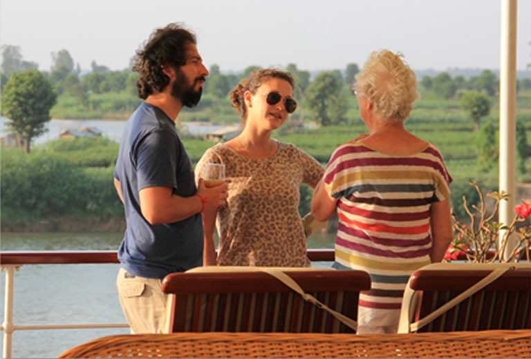 Meet like minded people on a Pandaw river cruise