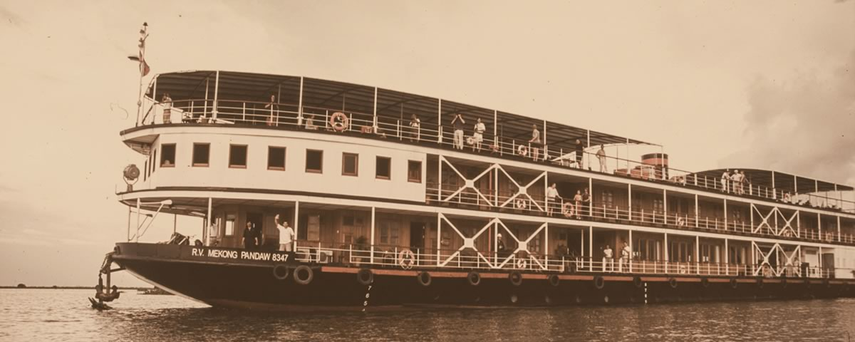 First on the Mekong: Pandaw's inaugural voyage from Saigon to Angkor, 2002