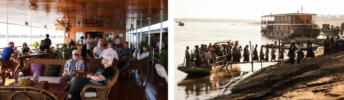 The Irrawaddy River Cruise