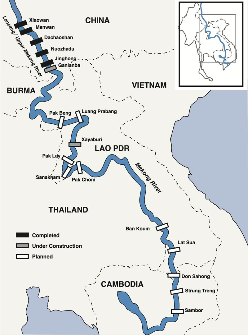 Lower Mekong Dams