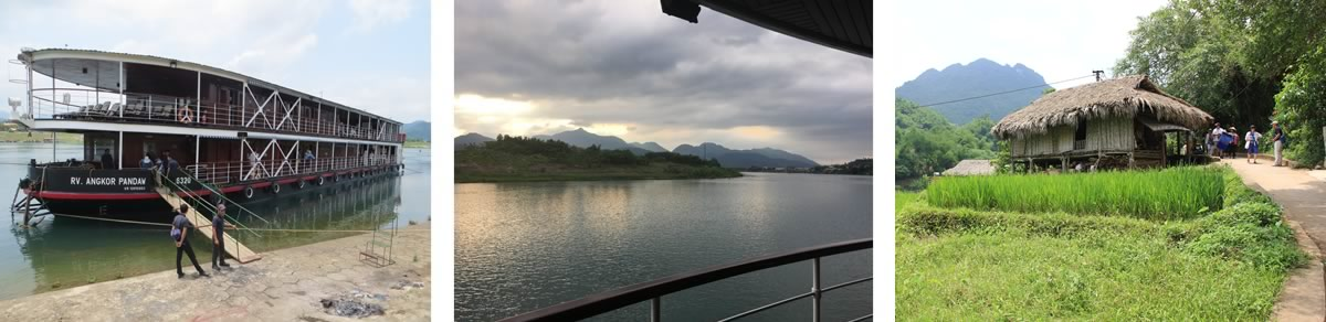 Halong Bay and the Red River cruise in Vietnam - Hoa Binh
