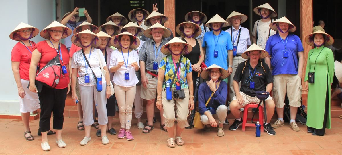 Halong Bay and the Red River cruise in Vietnam guests