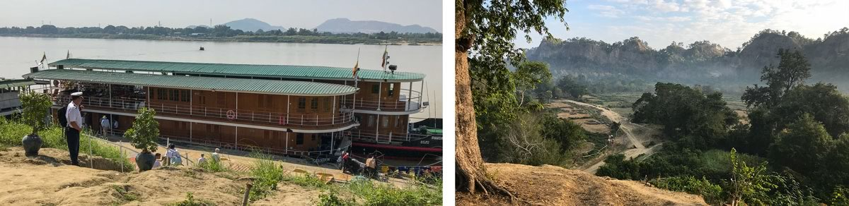 A trip up the Chindwin River in Burma (Myanmar) 3
