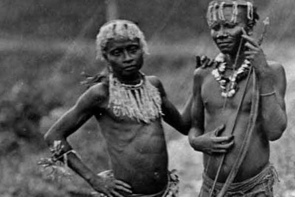 Tribes from the Andaman & Nicobar Islands 1