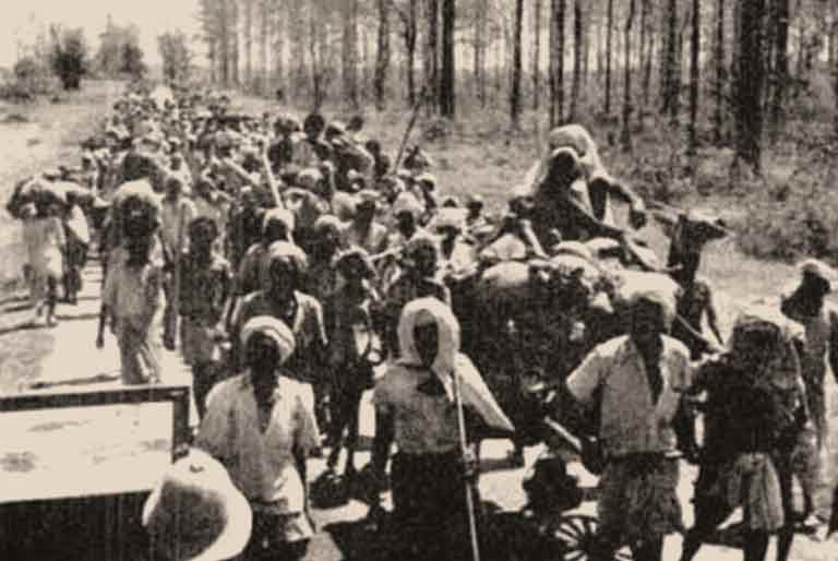 Indian Exodus from Burma, 1942