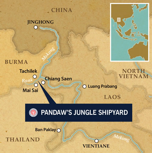 Pandaw's Jungle Ship Yard