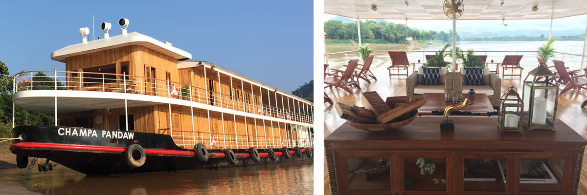 RV Champa Pandaw River Cruise Vessel