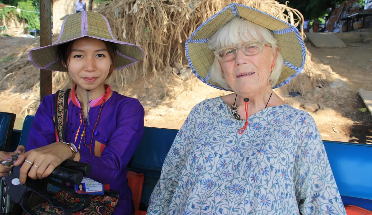 Burma The Irrawaddy River Cruise - Christine Lockey