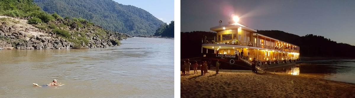 The Laos Mekong River Cruise
