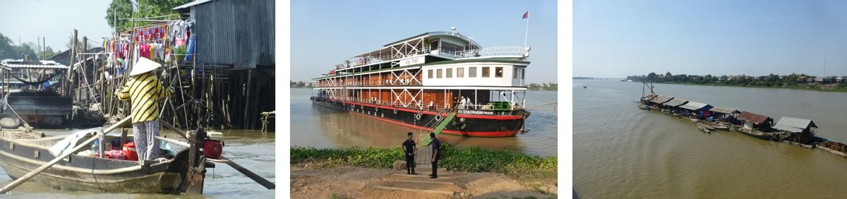 RV Tonle Pandaw river cruise on the Mekong River