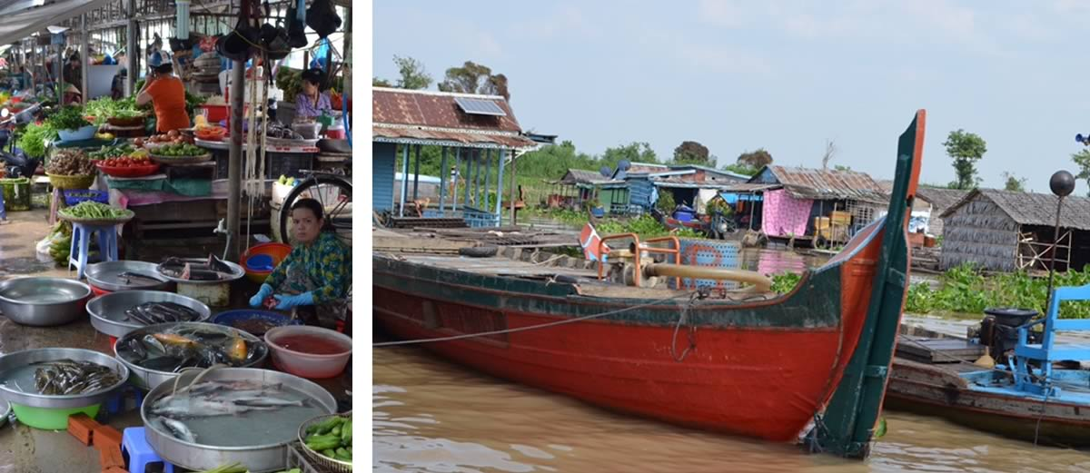 Susan Donaldson and David Perry Classic Mekong River Cruise Market