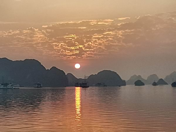 Lucy Allison on Vietnam's Red River and Halong Bay river cruise 3