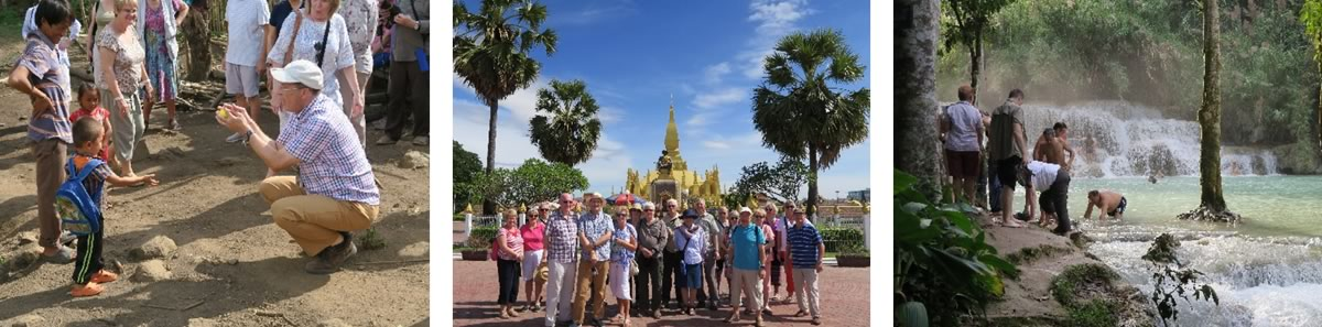 Steve Bousfield on Pandaw's Laos Mekong river cruise