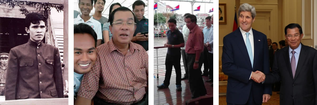 Cambodian Prime Minister steps aboard Mekong Pandaw