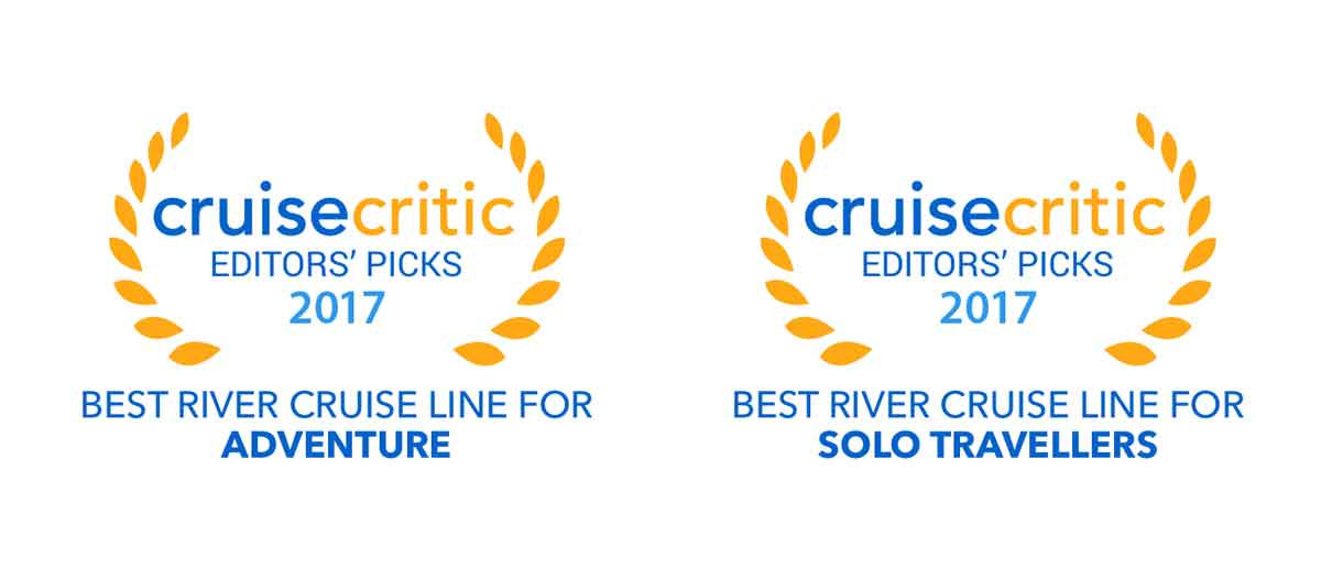 cruisecritic UK Editors' Picks Best River Cruise Line for Adventure and Solo Travellers