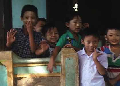 PANDAW CHARITY BEGINS AT HOME - IN BURMA: How Pandaw Founder, Paul Strachan gives back to Burma by funding rural healthcare and education