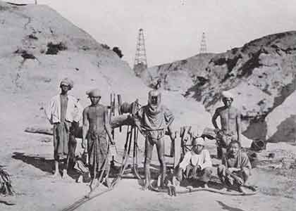 History of oil production in the Irrawaddy valley