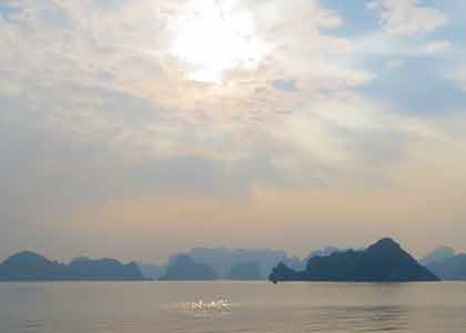 Halong Bay and the Red River - Filming of the Pandaw Production