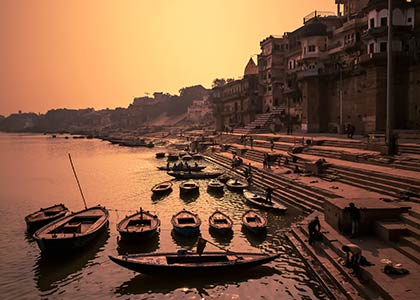 The Ganges: A Celestial River