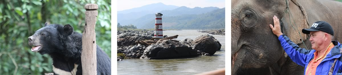 Kim McArdle & Jamie Aitken - The Mekong: From Laos to China River Cruise