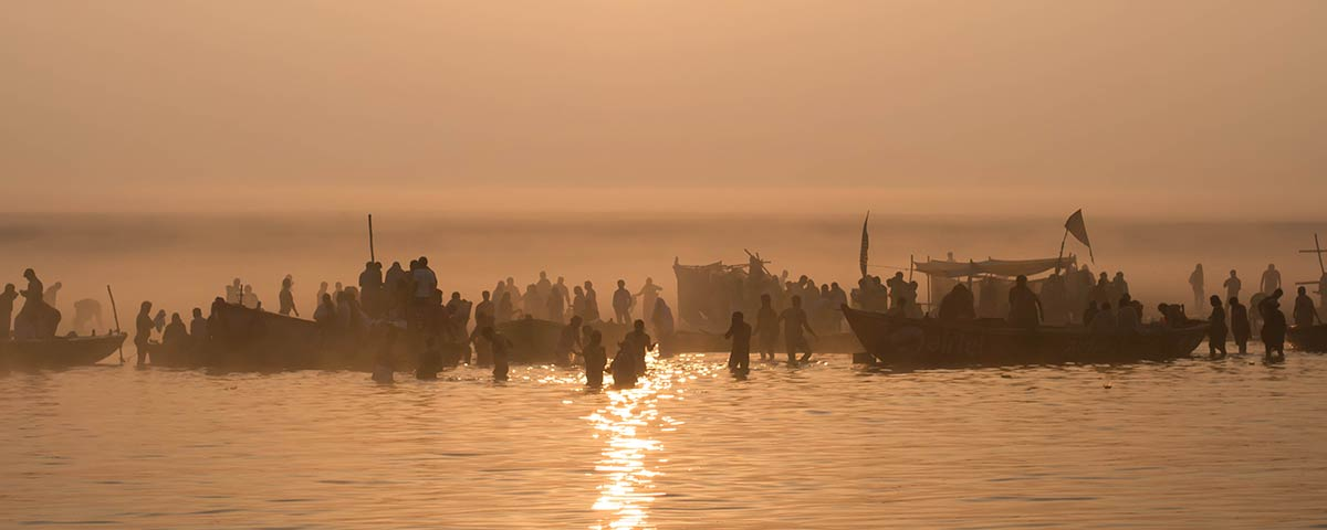 Pandaw People on the Ganges River 2