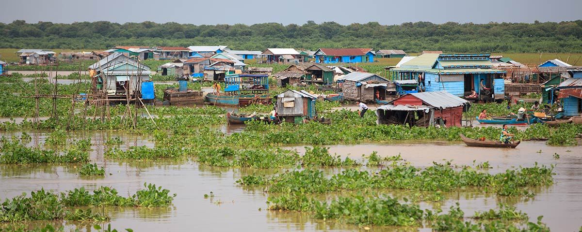 Pandaw Tonle River Floating village 3