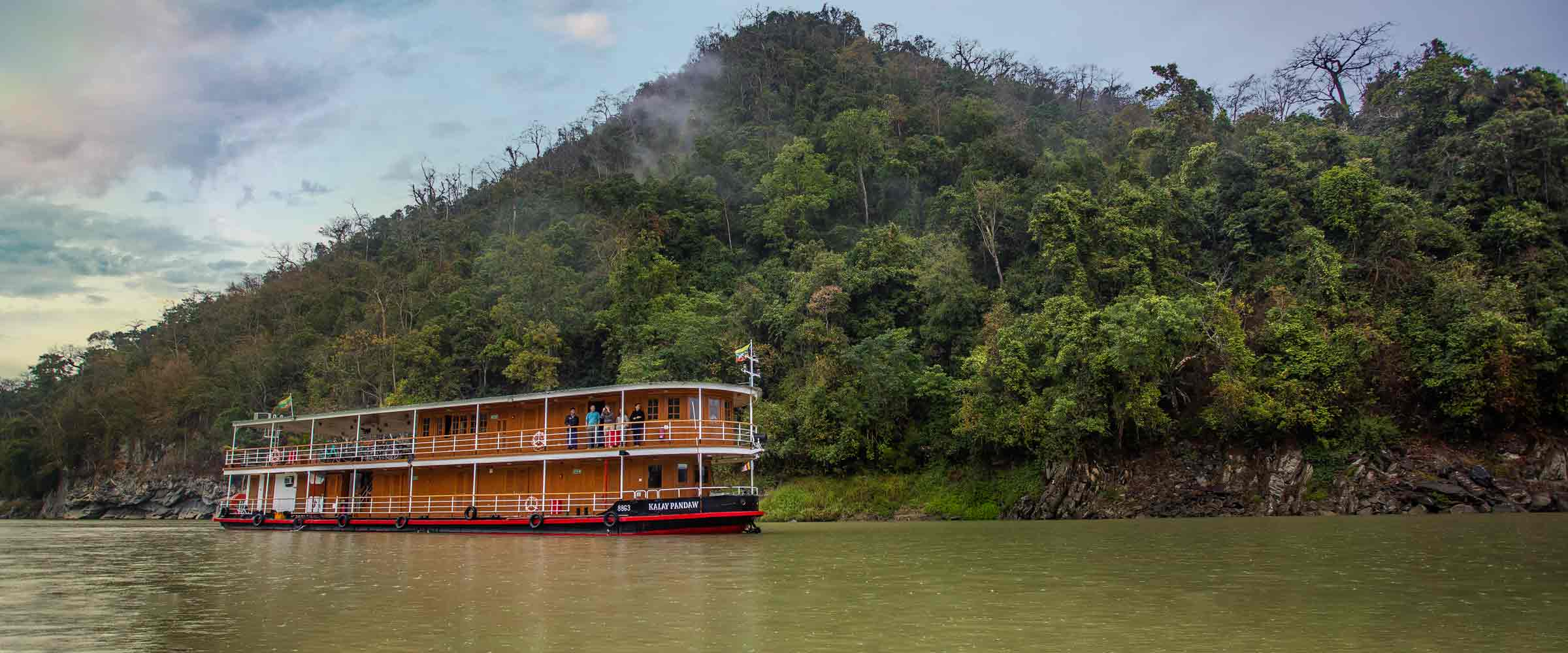 Pandaw is the Leading River Cruise company in Asia