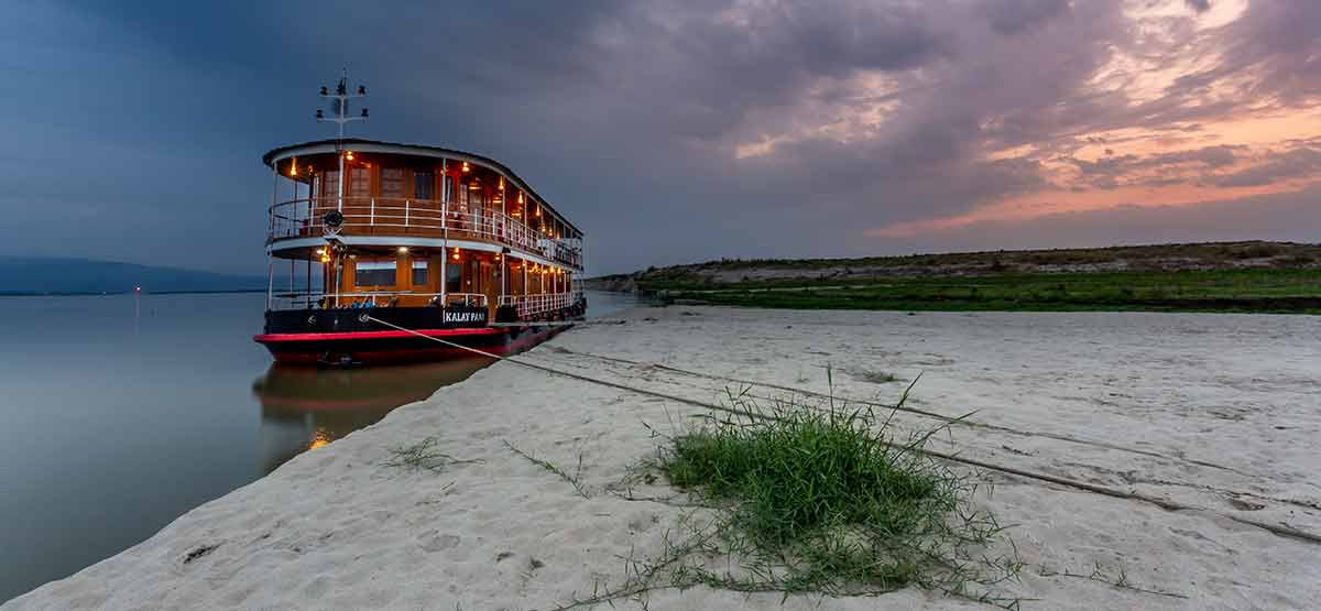 Charter a Pandaw river cruise ship or our sea going Andaman Explorer in Burma