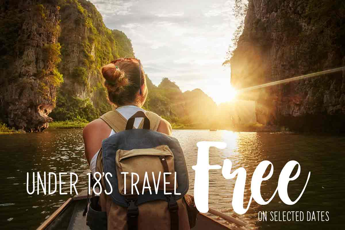 Kids go Free river cruises