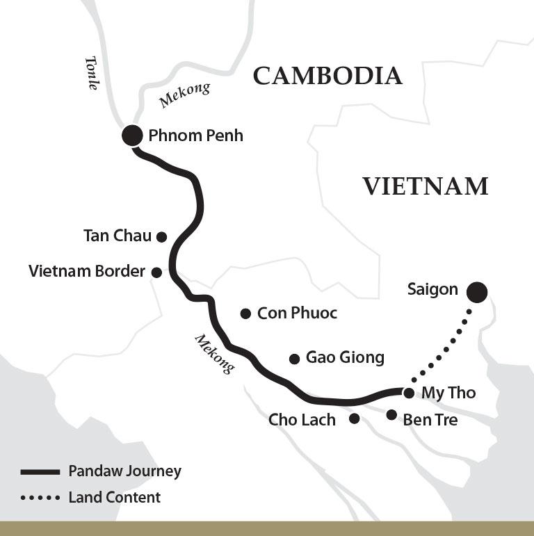 Cruise Saigon To Phnom Penh In 2019-2022