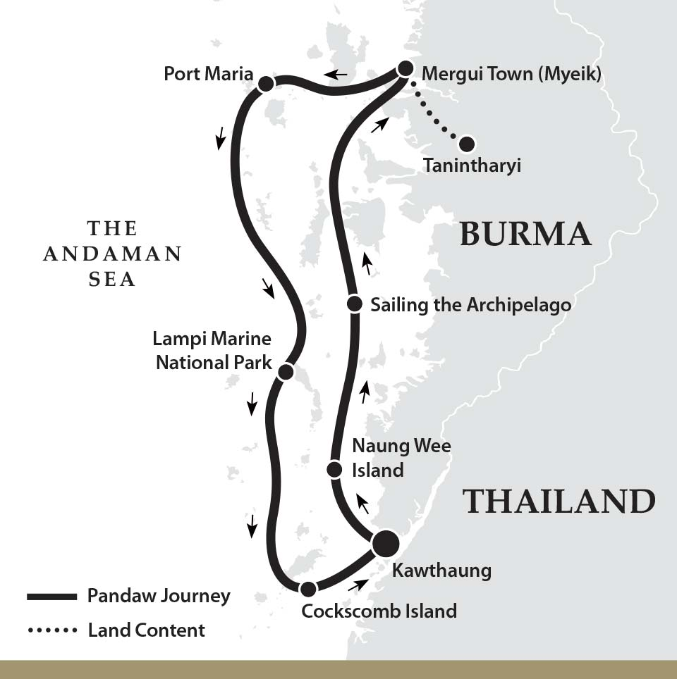 Mergui Archipelago, Myanmar (Burma): The ultimate island escape?