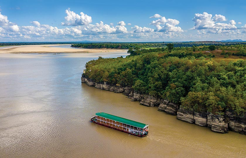 River Cruise itinerary for The Chindwin: 7 Nights