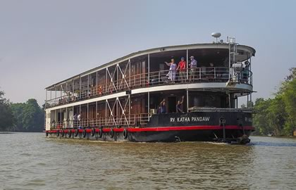River Cruise itinerary for The Great Irrawaddy Delta
