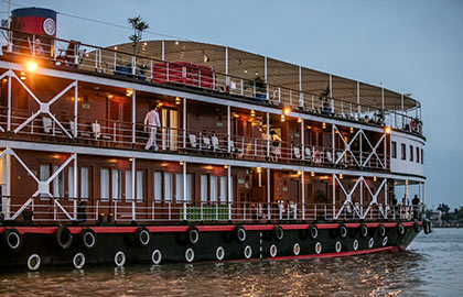 River Cruise itinerary for Classic Mekong