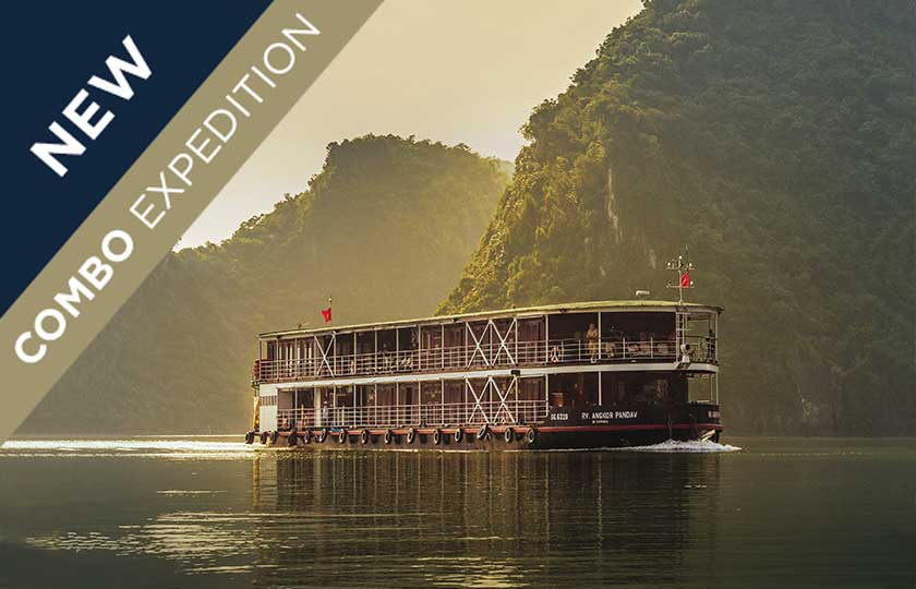 River Cruise itinerary for Halong Bay, Red River & Laos Mekong