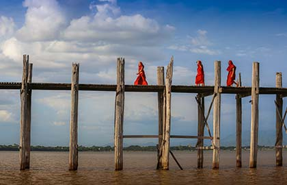 River Cruise itinerary for Pagan and The Upper Irrawaddy