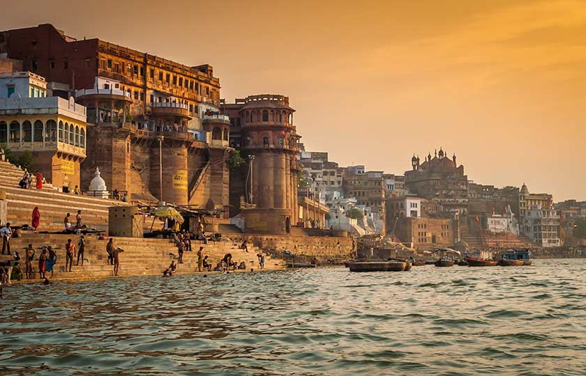 River Cruise itinerary for The Upper Ganges River