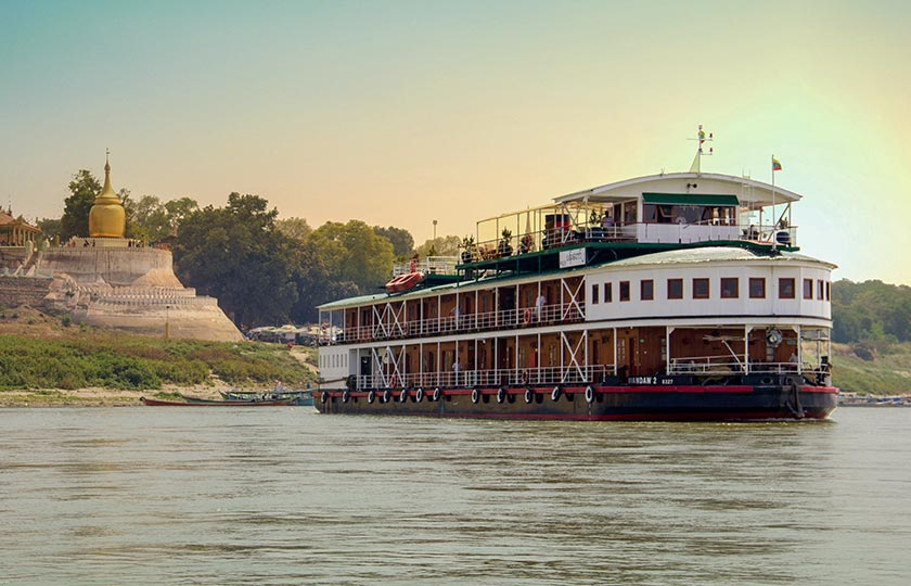 River Cruise itinerary for The Golden Land