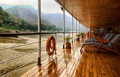 River Cruise itinerary for The Laos Mekong
