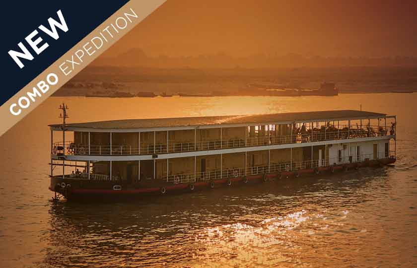 River Cruise itinerary for Ganges & Brahmaputra