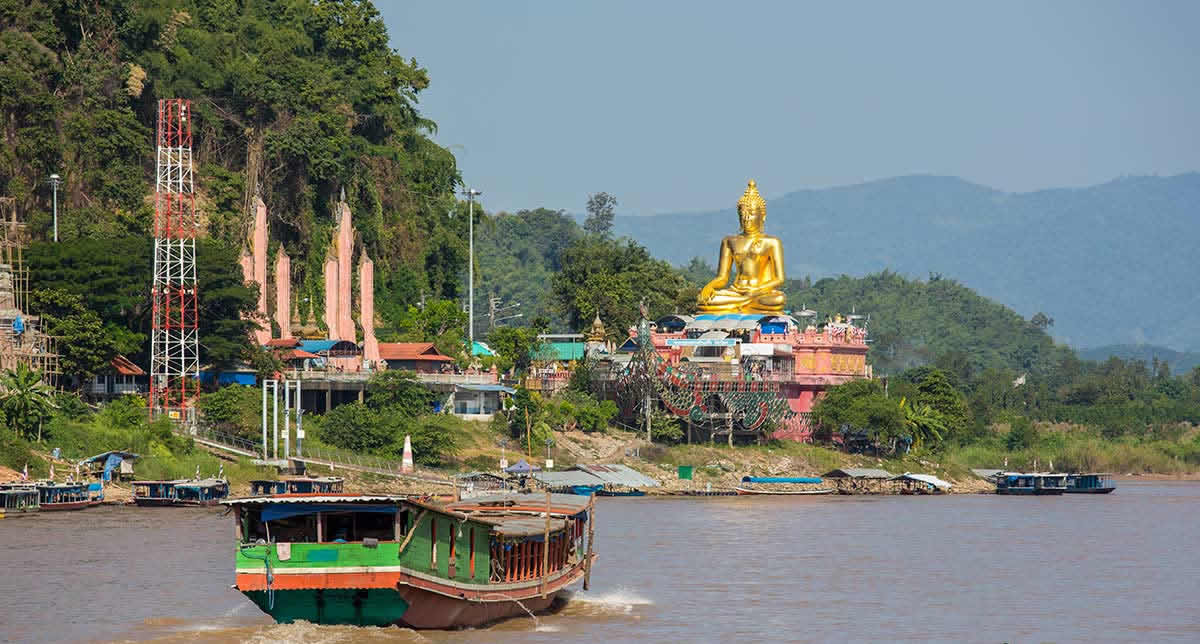Golden Triangle and Golden Buddha
