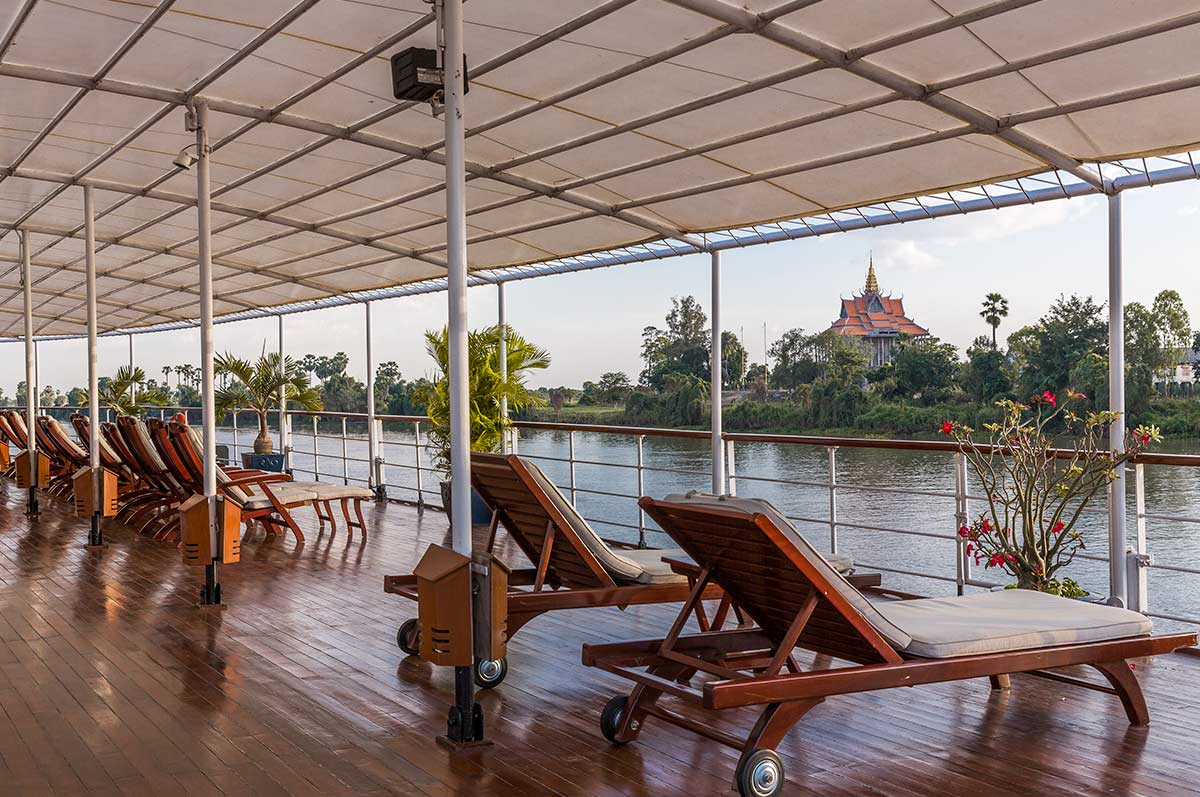 Kampong Cham from your river cruise ship