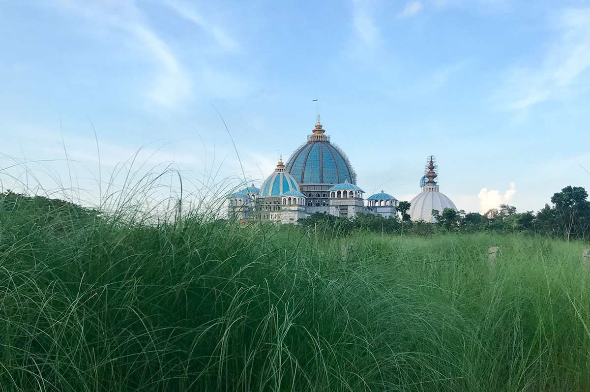 ISKCON temple in Mayapur