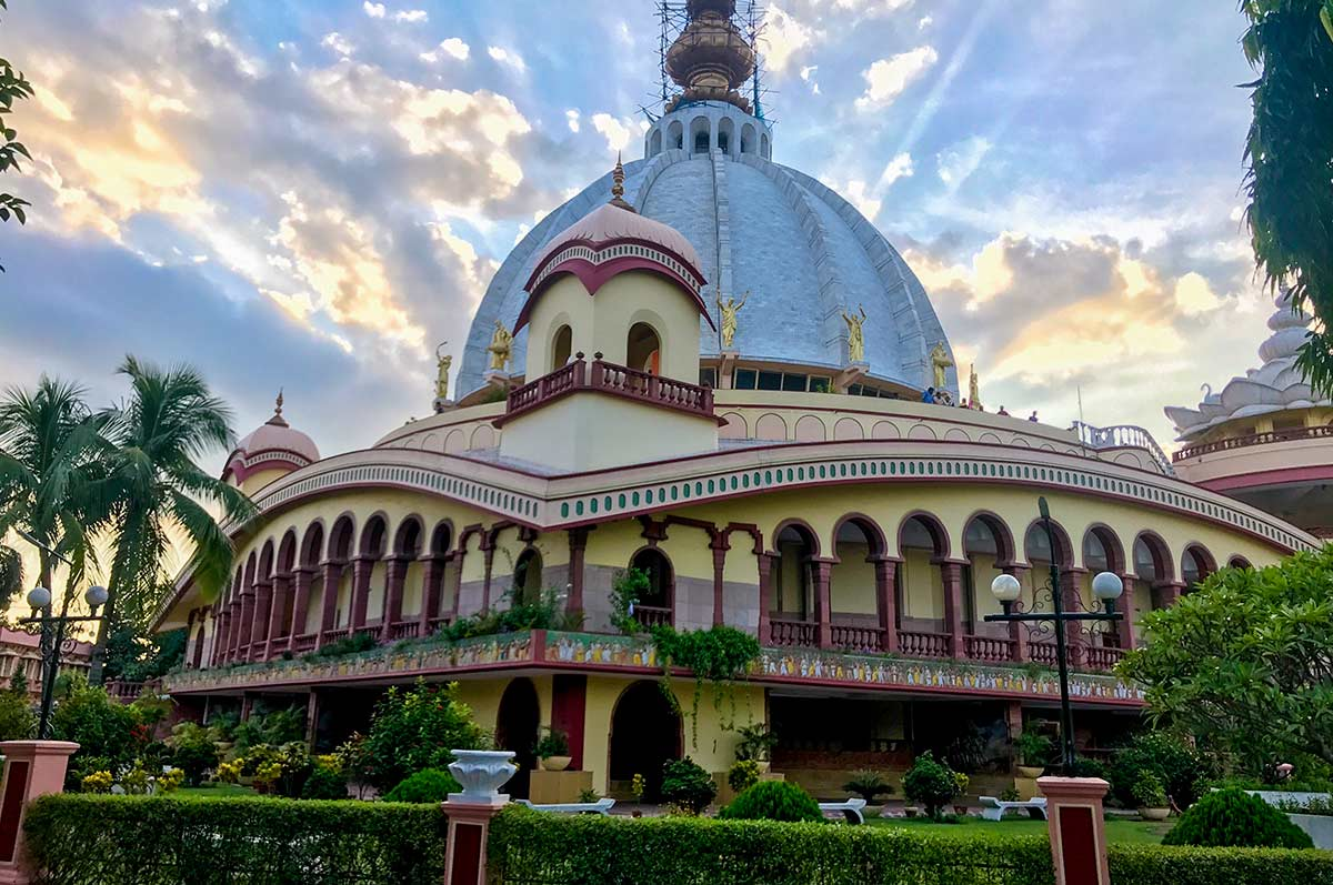 ISKCON Temple at Mayapur